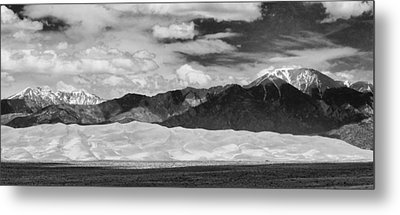 The Great Sand Dunes Panorama 2 Metal Print by James BO  Insogna