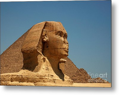 The Great Sphinx Of Giza Metal Print by Joe  Ng