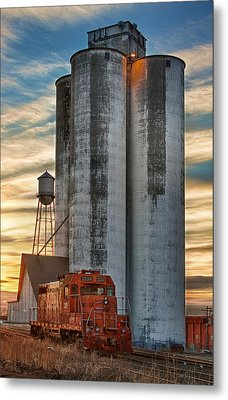 The Great Western Sugar Mill Longmont Colorado Metal Print