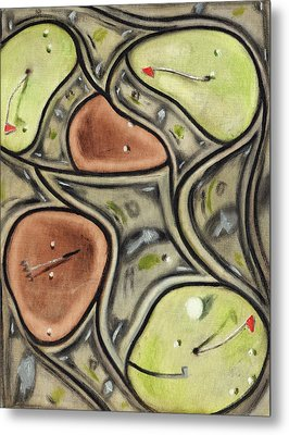 The Green Fees Golfing Art Print Metal Print by Tommervik