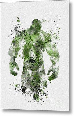 The Green Giant Metal Print by Rebecca Jenkins