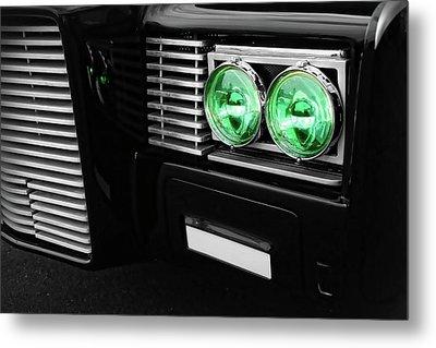 The Green Hornet Black Beauty Clone Car Metal Print by Gordon Dean II
