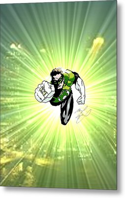 The Green Lantern Metal Print
