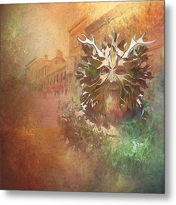 The Green Man Cometh Metal Print