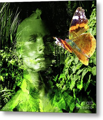Metal Print featuring the photograph The Green Man by LemonArt Photography
