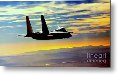 The Guardian Metal Print by Greg Moores