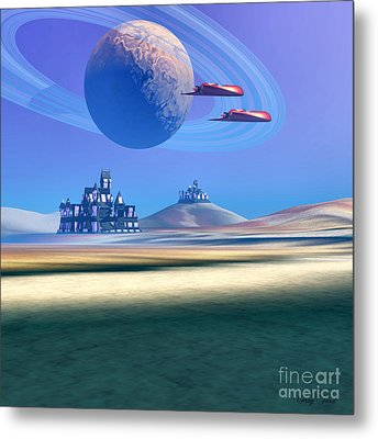The Guardians Metal Print by Corey Ford