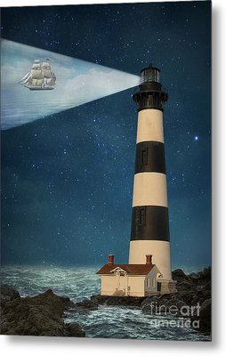 Metal Print featuring the photograph The Guiding Light by Juli Scalzi