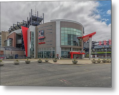 The Hall At Patriot Place Metal Print by Brian MacLean