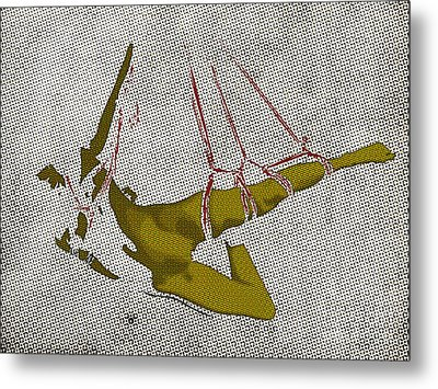 The Hanging Girl I Metal Print by Sandra Hoefer