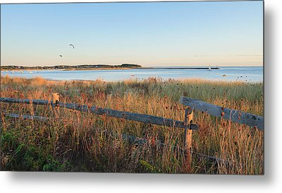 The Harbor Metal Print by Bill Wakeley