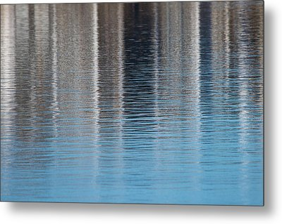 The Harbor Reflects Metal Print by Karol Livote