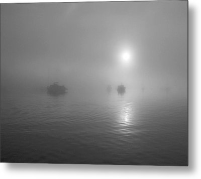 The Harbour Metal Print by Mark Alan Perry