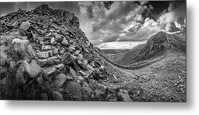 The Hare's Gap Metal Print