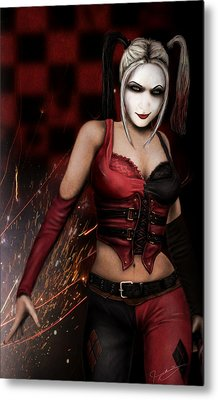 The Harley Quinn Metal Print