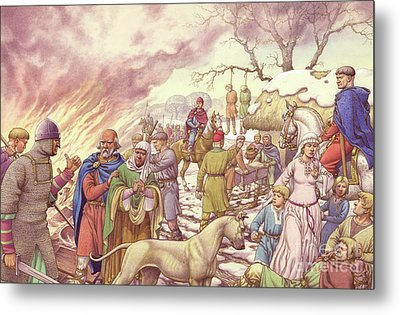 The Harrying Of The North Metal Print