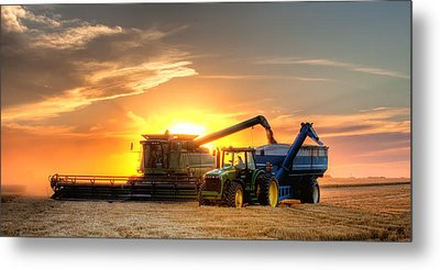 The Harvest Metal Print by Thomas Zimmerman