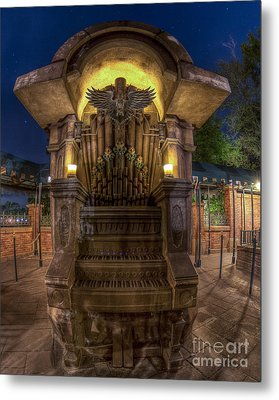 The Haunted Organ Metal Print