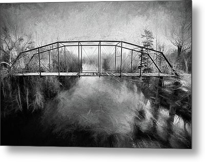 Metal Print featuring the digital art The Haunting by JC Findley