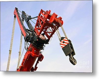 The Head And Primary Hoist Metal Print by Corepics