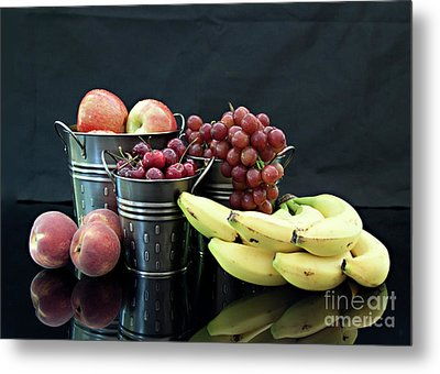 Metal Print featuring the photograph The Healthy Choice Selection by Sherry Hallemeier