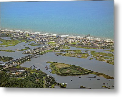 The Heart Of Topsail Island Metal Print by Betsy Knapp