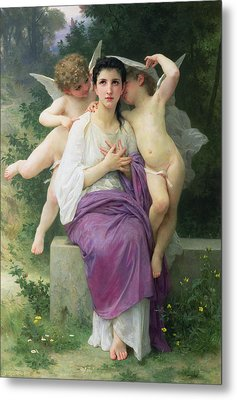 The Hearts Awakening Metal Print by William Adolphe Bouguereau