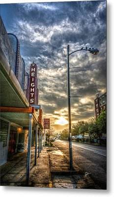 The Heights At Morning Light Metal Print by TK Goforth