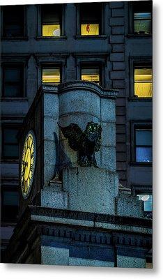 The Herald Square Owl Metal Print