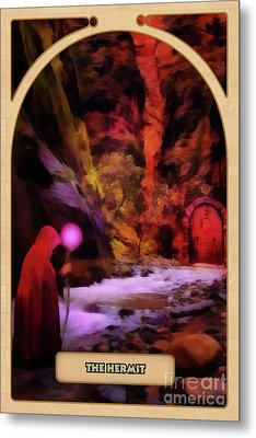 The Hermit Metal Print by John Edwards