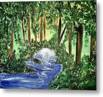 The Hidden Forest Metal Print by Angela Holmes