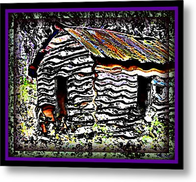 The Hideaway Metal Print by Leslie Revels Andrews