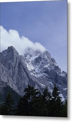 The Highest Mountain In Germany, Der Metal Print by Taylor S. Kennedy