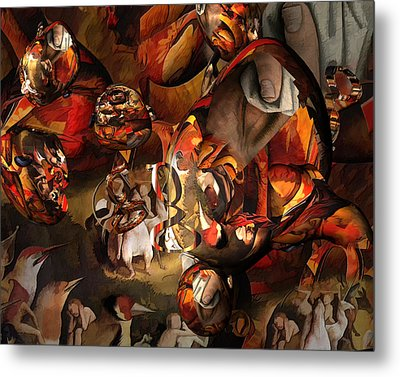 The History Or Art Metal Print by Peter Ciccariello