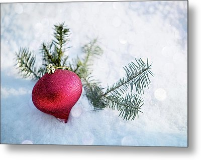 Metal Print featuring the photograph The Holidays by Rebecca Cozart