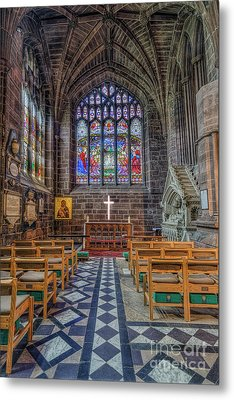 Metal Print featuring the photograph The Holy Cross by Ian Mitchell