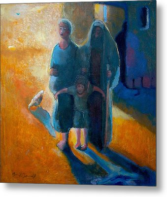 The Holy Family Metal Print by Daniel Bonnell
