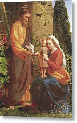 The Holy Family Metal Print by James Collinson