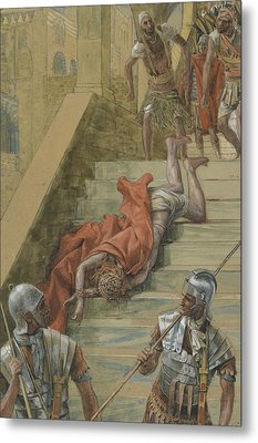 The Holy Stair Metal Print by Tissot