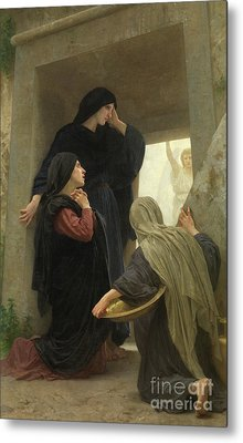 The Holy Women At The Tomb Of Christ Metal Print