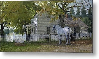 The Home Place Metal Print by Michael Wilson