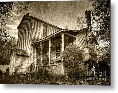 Metal Print featuring the photograph The Home Place by Pete Hellmann