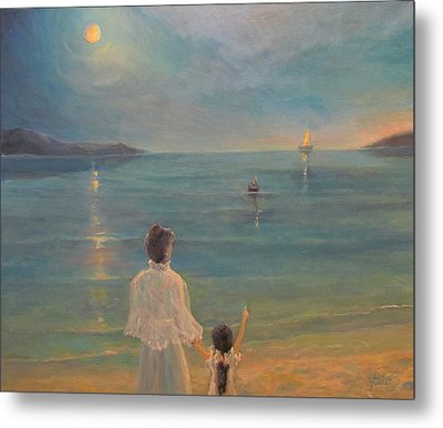 Metal Print featuring the painting The Homecoming by Donna Tucker