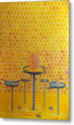 The Honey Of Lives Metal Print by Lazaro Hurtado