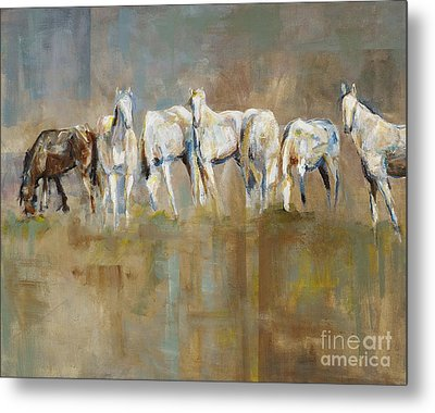 The Horizon Line Metal Print by Frances Marino