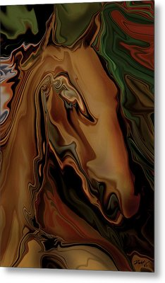 The Horse Metal Print by Rabi Khan