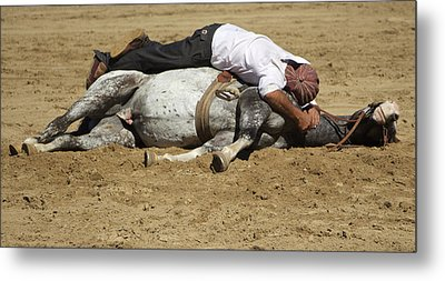 The Horse Whisperer Metal Print by Venetia Featherstone-Witty
