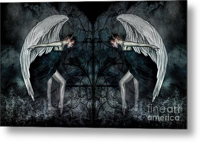 The Hosts Of Seraphim Metal Print by Spokenin RED