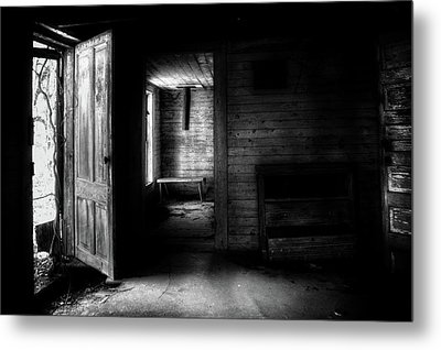 The House In The Woods Metal Print by Greg Mimbs
