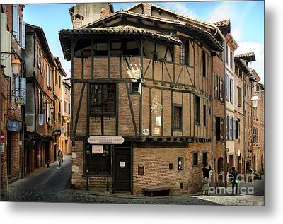 The House Of The Old Albi Metal Print by RicardMN Photography